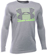 Under Armour Boys 8-20 Athletic Logo Top