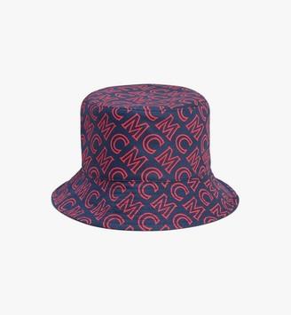 MCM Reversible Monogram Bucket Hat