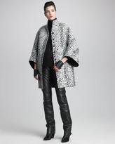 Chado Ralph Rucci Reversible Tweed Coat