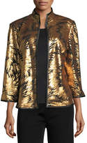 Misook Matte Sequin Burst Jacket