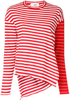 Ports 1961 striped jumper - women - Virgin Wool - L