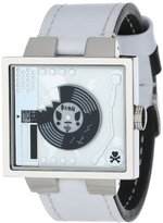 Tokidoki Unisex TDW163SSIL Chromo Vinile Record Player White Watch