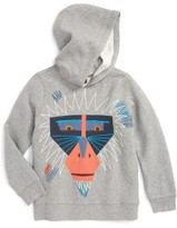 Tea Collection Boy's Saru Embroidered Graphic Hoodie