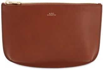 A.P.C. Sarah Smooth Leather Pochette