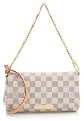Louis Vuitton Favorite Damier Azur PM White/Blue