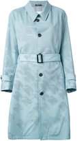 Maison Margiela bird and telephone print coat - women - Cotton/Viscose/Virgin Wool - 38