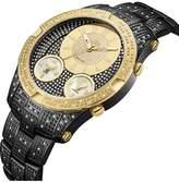 JBW Men's Jet Setter Iii Genuine Diamond Watch.