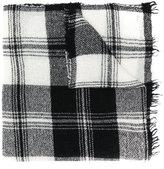 Faliero Sarti checked scarf