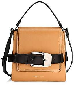 Proenza Schouler Women's Buckle Leather Box Bag
