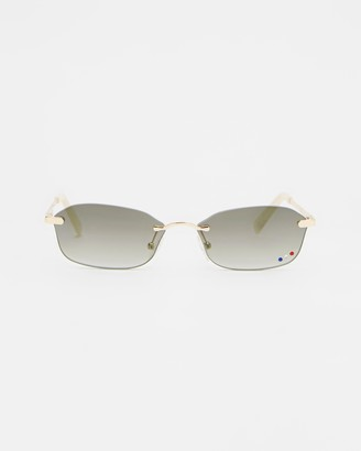 Le Specs Women's Gold Retro - Adolfo - Size One Size at The Iconic