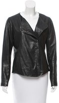 Vince Leather Tailored Jacket
