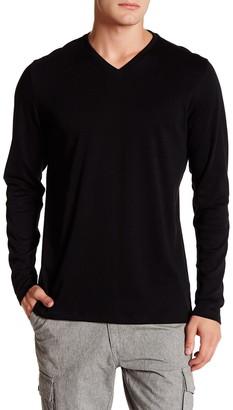 Robert Barakett Jefferson Long Sleeve V-Neck T-Shirt