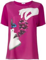 P.A.R.O.S.H. grape print T-shirt