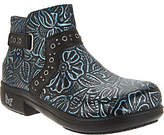 Alegria Leather Embellished Ankle Boots - Zoey