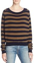 Vince Regiment Stripe Cashmere Sweater