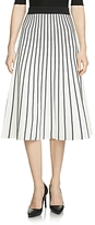 Maje Jibralto Striped Knit Skirt