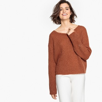 La Redoute Collections Oversize Mohair Jumper