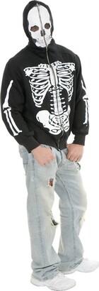 Charades Men's Skeleton Hoodie