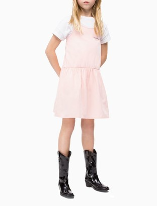 Calvin Klein Girls Spaghetti Strap Dress