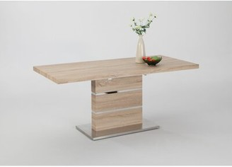 Wade Logan Angelo Extendable Dining Table