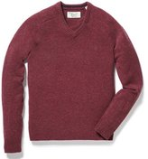 Original Penguin Saddle Raglan Jersey V-Neck Sweater