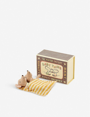 The Conran Shop Maileg mice twins soft toys set of two