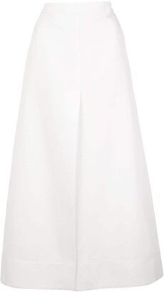 3.1 Phillip Lim front slit A-line skirt