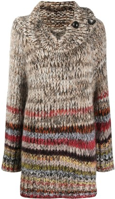 Stella McCartney Cowl Neck Knitted Jumper