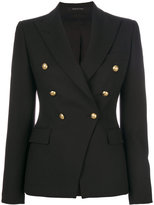 Tagliatore embellished fitted blazer