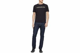 Calvin Klein Men's Jeans Logo Short Sleeve Crewneck T-Shirt