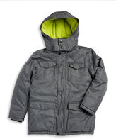 Calvin Klein Boys 8-20 Hooded Utility Jacket