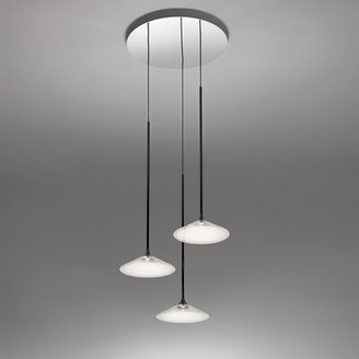 Artemide Orsa 3 - Light Cluster Cone LED Pendant with Plastic Accents