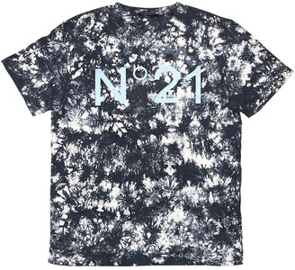 N°21 Tie Dyed Cotton Jersey T-shirt