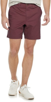 Sonoma Goods For Life Men's Flat-Front Chino Shorts