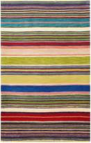 Liora Manné Inca Stripes Indoor Wool Pile Rug - Red - 4ft. x 6ft.