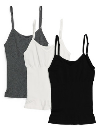 3pk Seamless Shaping Reversible Camisoles