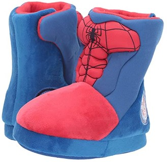 Favorite Characters Spidermantm Slipper Boot SPF257 (Toddler/Little Kid) (Red) Boy's Shoes
