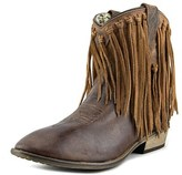 Dingo Lad 6 Fringe Round Toe Leather Winter Boot.