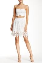 Romeo & Juliet Couture Layered Midi Skirt