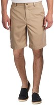 Greg Norman Flat-Front Shorts (For Men)