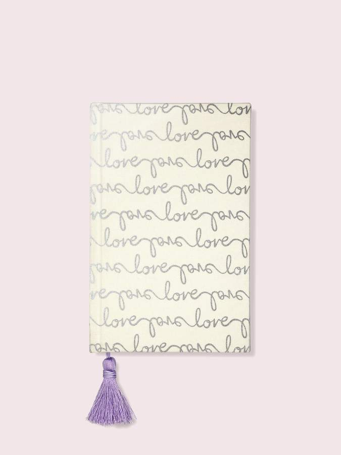 Kate Spade love bridal journal