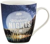 "Pfaltzgraff I Live For The Weekend Nights"" Mug"