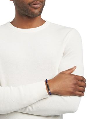 Effy Sterling Silver, Lapis & Black Spinel Bracelet