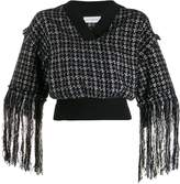 Faith Connexion cropped fringed sweater