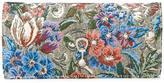 Ermanno Scervino floral pattern continental wallet