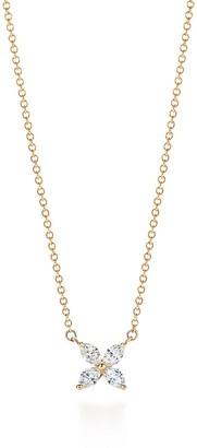 Tiffany & Co. Victoria pendant in 18ct gold with diamonds, medium