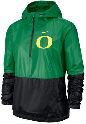 Nike Women Oregon Ducks Half-Zip Jacket