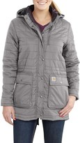 Carhartt Amoret Long Jacket - Insulated, Flannel Lined, Factory Seconds (For Women)