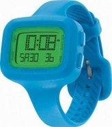 Converse VR025470 Understatement Classic Digital and Turquoise Silicone Strap Watch