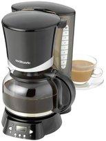 Cookworks Filter Coffee Maker with Timer - Black